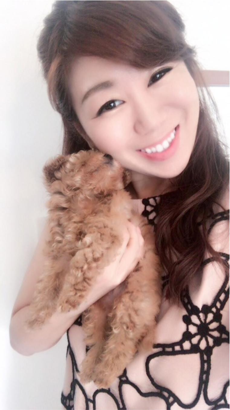 杉口加奈と愛犬
